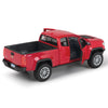 2017 Chevrolet Colorado ZR2 Pickup Truck Red 1/27 Diecast