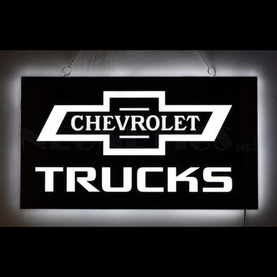 Chevrolet Trucks Slimline LED Sign