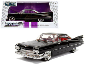 "1963 Cadillac Black ""Bigtime Kustoms"" 1/24 Diecast"