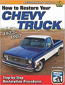 How to Restore your Chevy Truck: 1973-1987 Paperback Book