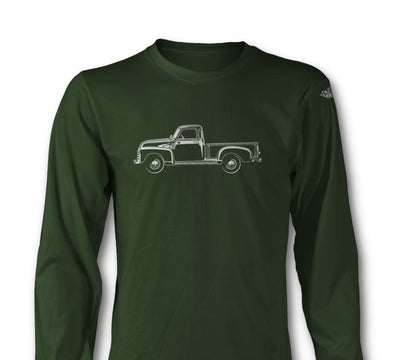 1947 - 1950 Chevrolet Pickup 3100 Long Sleeve T-Shirt