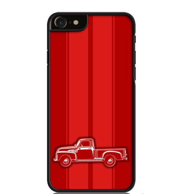 1947 - 1950 Chevrolet Pickup 3100 Smartphone Case - Racing Stripes