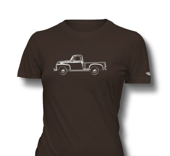 1951-1954 Chevrolet Pickup 3100 Ladies T-Shirt