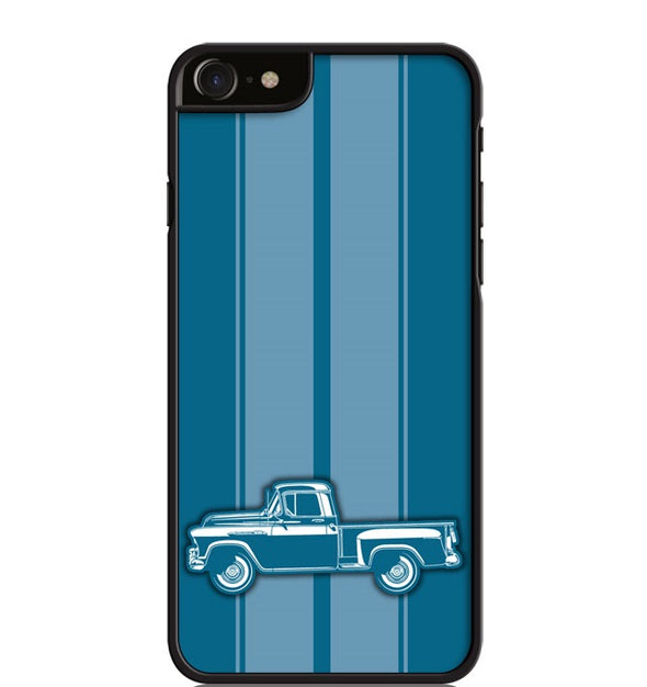 1956 Chevrolet Pickup 3100  Task Force Series Smartphone Case - Racing Stripes