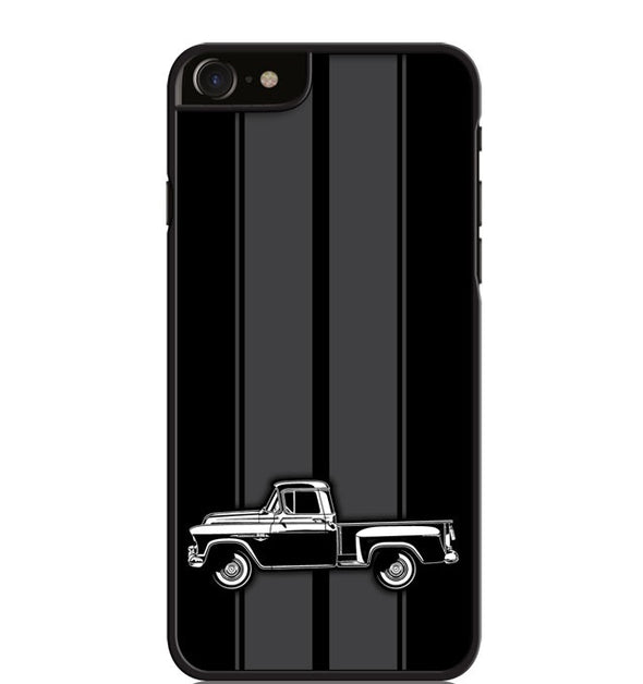 1957 Chevrolet Pickup 3100  Task Force Series Smartphone Case - Racing Stripes