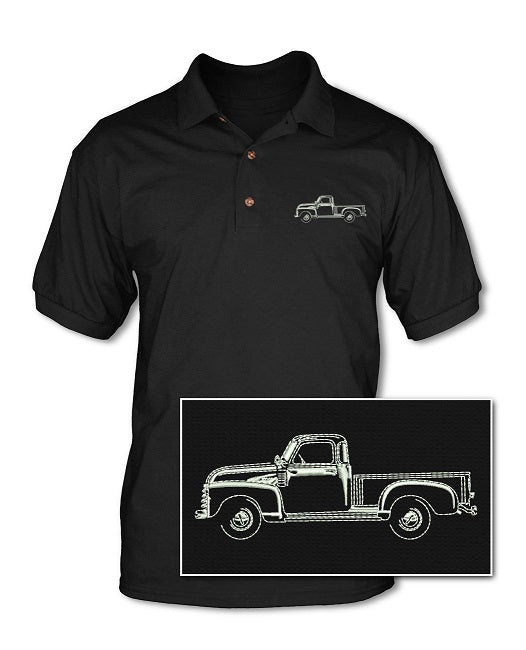 1947 - 1950 Chevrolet Pickup 3100 Pique Polo Shirt