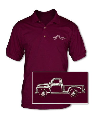 1964 -1966 Chevrolet Pickup C/K Pique Polo Shirt