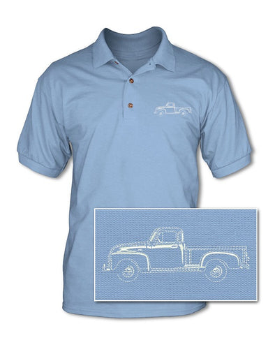 1951 - 1954 Chevrolet Pickup 3100 Pique Polo Shirt