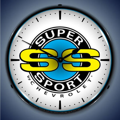 Chevrolet Super Sport Lighted Clock