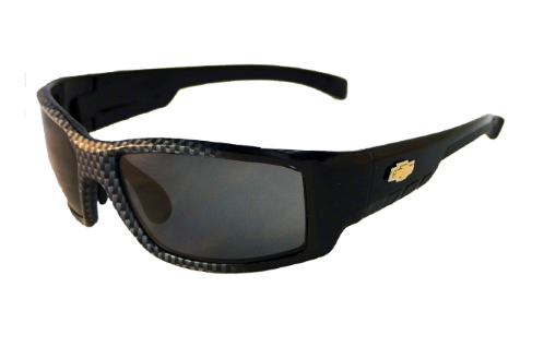 Chevrolet Solar Bat 55 Carbon Fiber Sunglasses -Polarized or Non-Polarized