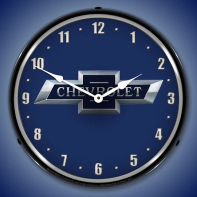 Chevrolet Bowtie 100th Anniversary Lighted Clock