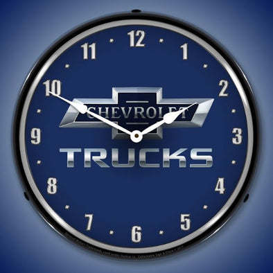 Chevrolet Trucks 100th Anniversary Lighted Clock