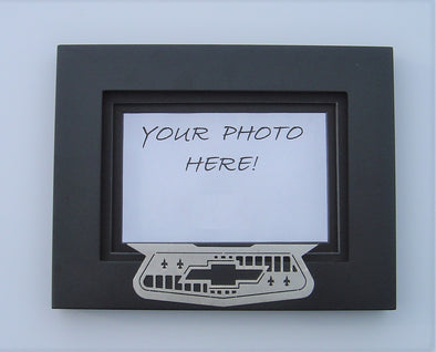 1955-57 Chevy Emblem Picture Frame