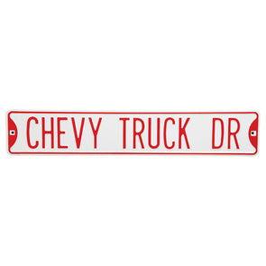 Chevy Truck Drive Street Sign