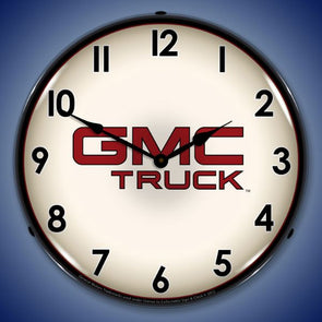 GMC Truck Lighted Clock