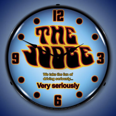 GTO The Judge Lighted Clock
