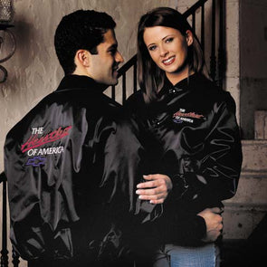 Chevrolet Heartbeat Satin Jacket