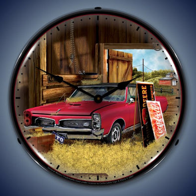 Hidden Treasure GTO Lighted Clock