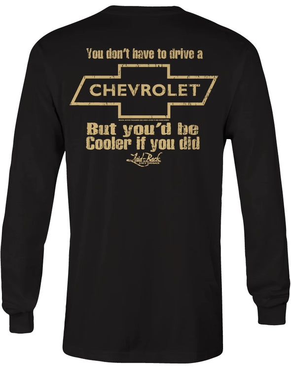 Cooler Chevy-Long Sleeve T-Shirt