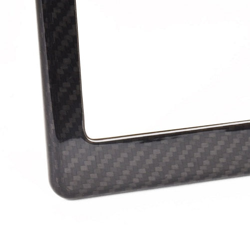 Chevy Truck Carbon Fiber License Frame | 100TH Anniversary