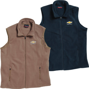 Chevrolet Gold Bowtie Micro Fleece Vest