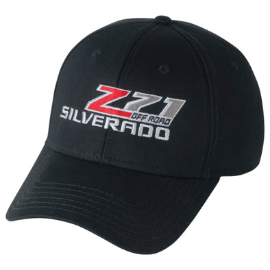 Z71 Off Road Weathered Cap - Black