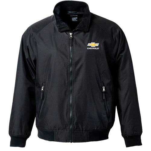 Mens Chevrolet Gold Bowtie Heavyweight Jacket