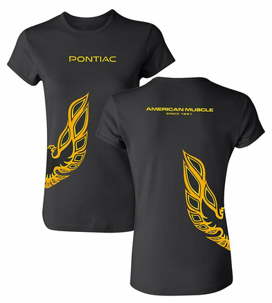 Ladies Pontiac Firebird Wrap T-Shirt