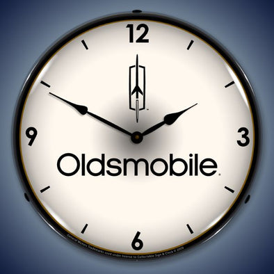 Oldsmobile Lighted Clock