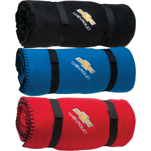 Chevrolet Bowtie Fleece Blanket (50x60)