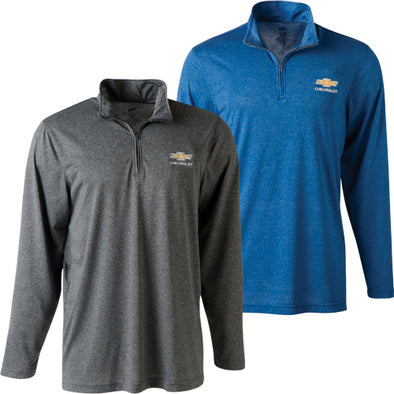 Chevrolet Gold Bowtie Cool & Dry Preformance 1/4 Zip Jacket