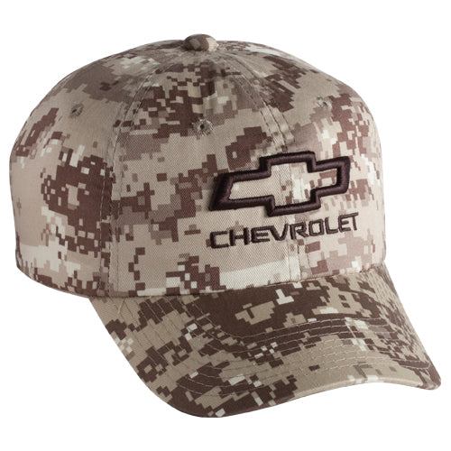 Chevrolet Open Bowtie Digital Camo Cap