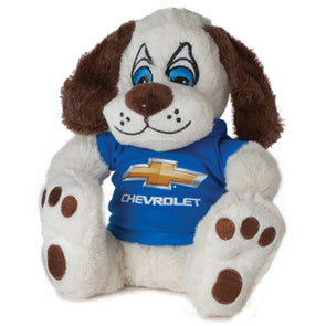 Chevrolet Bowtie Puppy Plush Toy