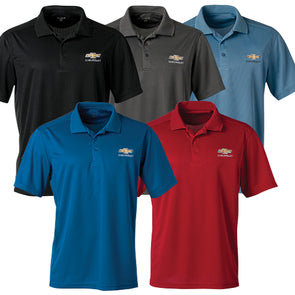 Men's Chevrolet Gold Bowtie Ice Pique Polo