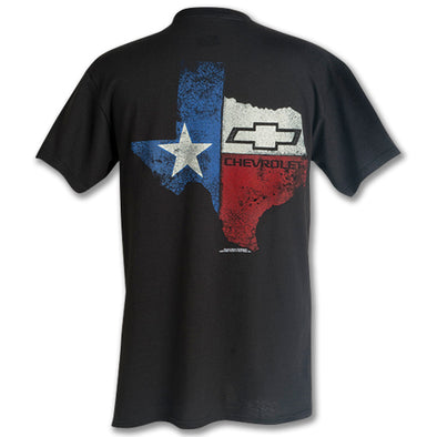 Texas State Chevrolet Bowtie T-Shirt