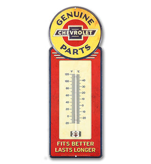 Chevrolet Tin Thermometer