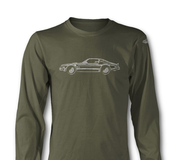 1977 Pontiac Trans Am Coupe Long Sleeve T-Shirt