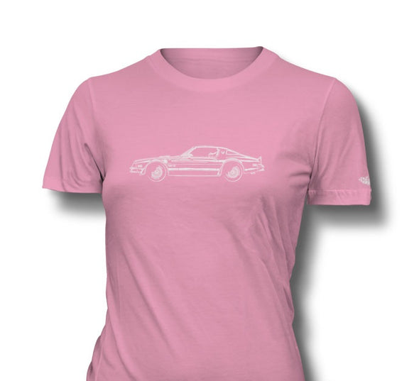 1977 Pontiac Trans Am Coupe Ladies T-Shirt