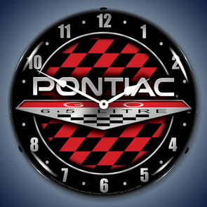 Pontiac GTO Lighted Clock