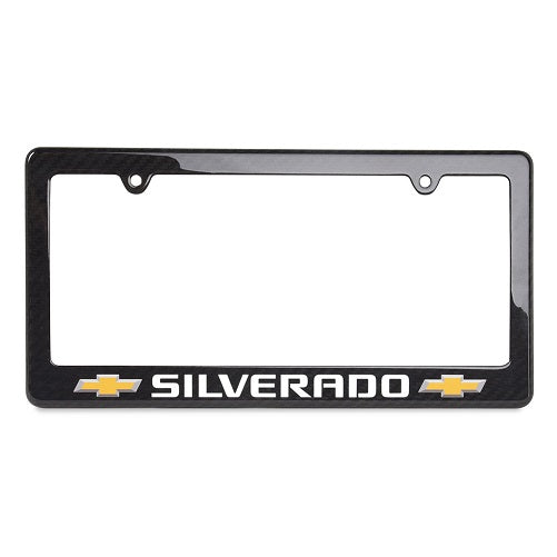 Chevy Truck Carbon Fiber License Frame | Silverado