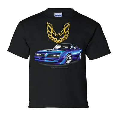 77 Pontiac Firebird Youth T Shirt