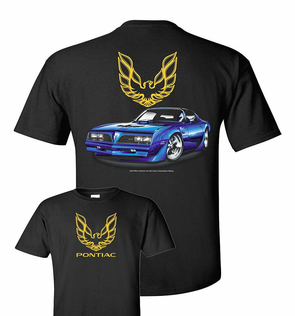 77 Pontiac Firebird Men's T Shirt