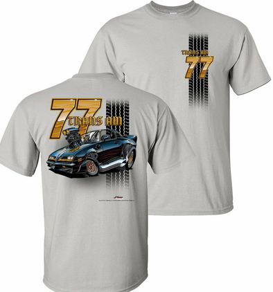 77 Trans Am Tooned Up T-Shirt