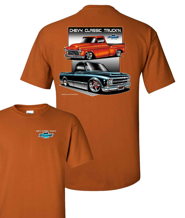 Chevy C10 Two Trucks Men's T Shirt