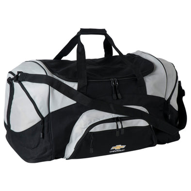 Chevrolet Gold Bowtie Colorblock Sport Duffle Bag