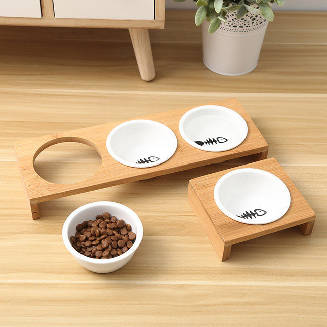 Cat Dog Feeders Bowls - exploreyourfashion