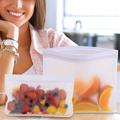 Silicone food storage container - exploreyourfashion
