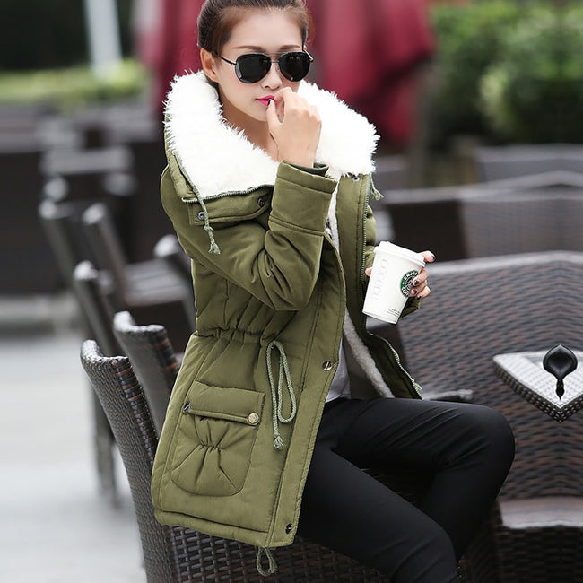 New fashion warm cotton women coat