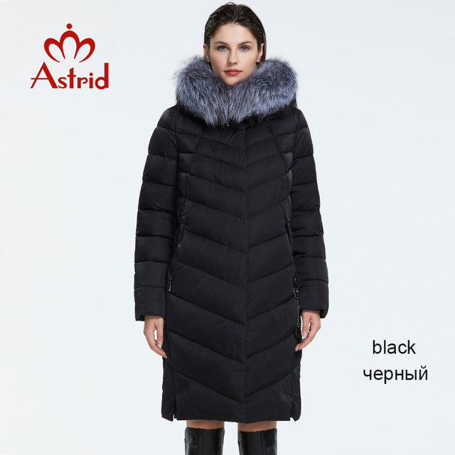 Winter new arrival down jacket with a fur collar