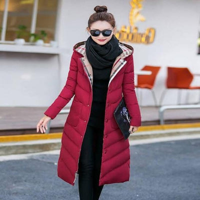 Autumn and Winter Cotton Padded Jacket Coat